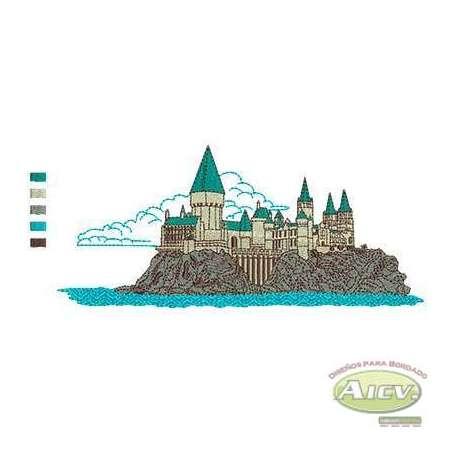 Matrices Picajes para bordado Castillo 22 cm