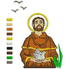 Saint Francis of Assisi - Bordados