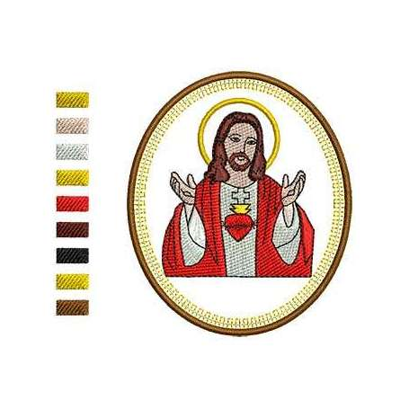 Sacred Heart 2 - Embroidery
