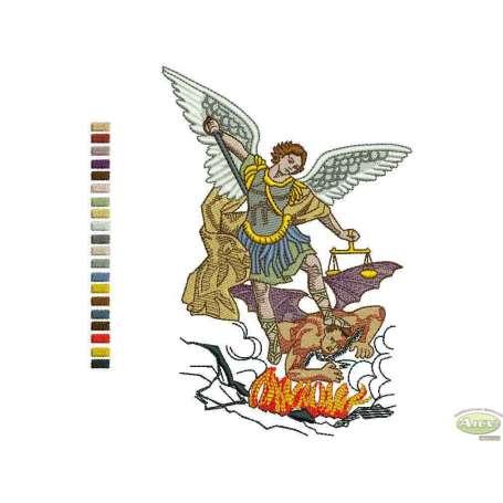 Archangel Michael - Matrices para bordados