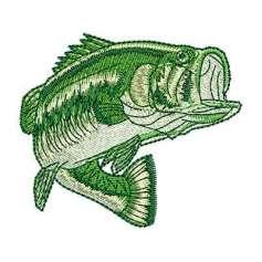 Pez robalo - Embroidery design