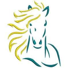 Cabeza de caballo - Ponchado
