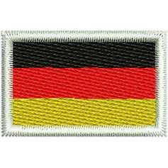 Bandera Alemania - Embroidery design