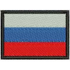 Flag of Russia - Matrices para bordados