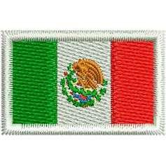 Bandera México 3cm