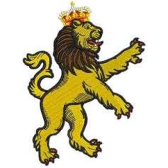 León de la realeza