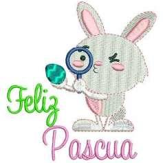 Conejito Pascua 2 - Ponchado