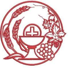 Cáliz y Uvas - Embroidery design