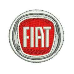Fiat embroidery design