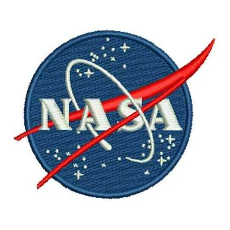 NASA logo para bordado - Picajes para bordados