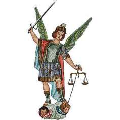 Saint Michael the Archangel - Bordados