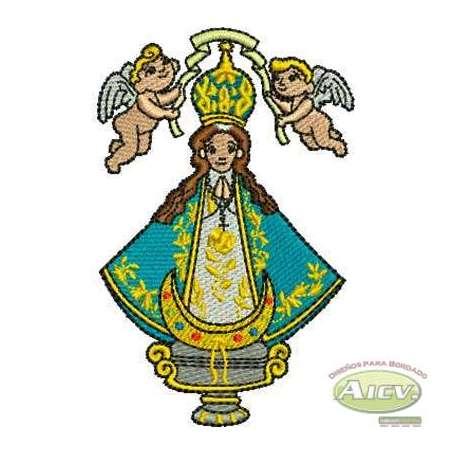 Virgen de San Juan de los Lagos Infantil - Embroidery design