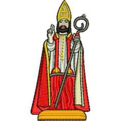 Saint Blaise - Embroidery