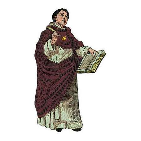St. Thomas Aquinas 23 cm. -