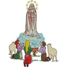 Our Lady of Fátima 18 cm.