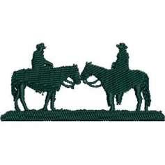 Vaqueros silueta - Ponchado
