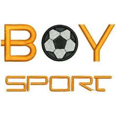 Boy Sport - Matrices para bordados