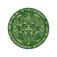 Calendario Azteca 24 cm. - Ponchado