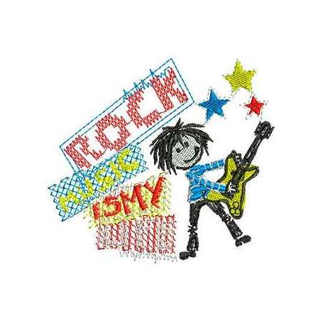 Rock is my life -