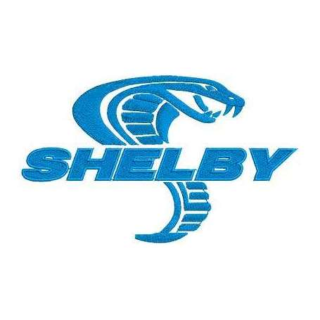 Shelby Cobra emblem 16.5 cm. - Picaje