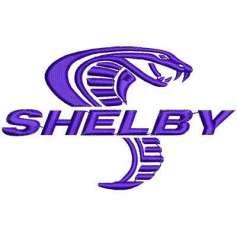 Shelby Cobra emblem 9.7 cm. -
