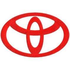 Toyota Emblema 17 cm. - Picajes para bordados