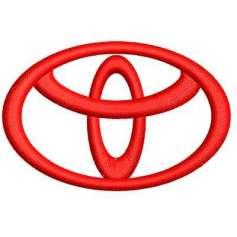 Toyota Emblema 6 cm.