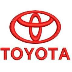 Toyota Logo 6 cm - Bordados