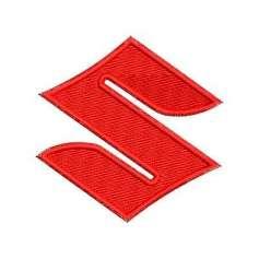 Suzuki Emblem 6 cm. - Embroidery