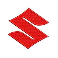 Suzuki Emblem 10 cm. - Matrices para bordados