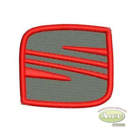SEAT Emblem 5.5 cm - Matrices para bordados