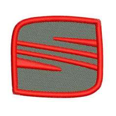 SEAT Emblem 5.5 cm - Matrices para bordados