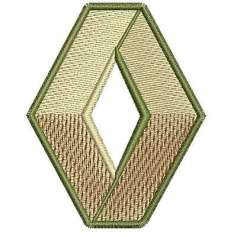 Renault Emblema - Picajes para bordados