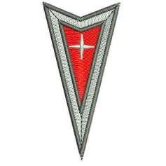Pontiac Emblema - Ponchado