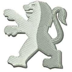 PEUGEOT Emblema 2 - Ponchados para bordados
