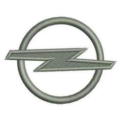 Automotive embroidery design OPEL Emblem 6 cm.