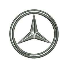 Automotive embroidery design Mercedes Benz Emblem