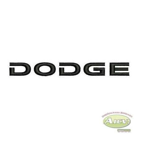 DODGE logo 10 cm. - Embroidery